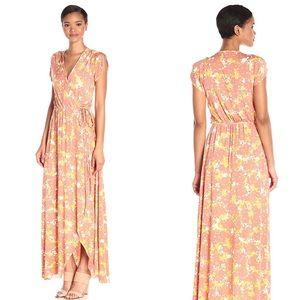 Rachel Pally Perpetua Maxi Wrap Dress Fiore Sz XS